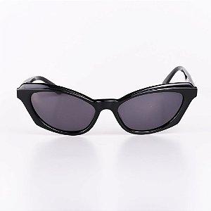 Óculos Solar Feminino Robert La Roche Preto com Lente Fumê - RROCS012