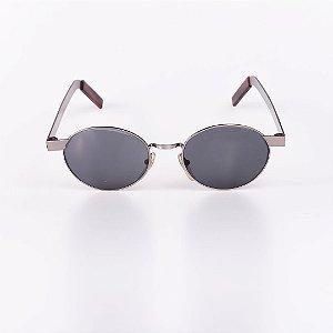 Óculos de Sol Feminino Robert La Roche Grafite com Lente Fumê - RROCS105M63