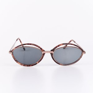 Óculos de Sol Feminino Robert La Roche Animal Print com Lente Fumê - RROCSCA126