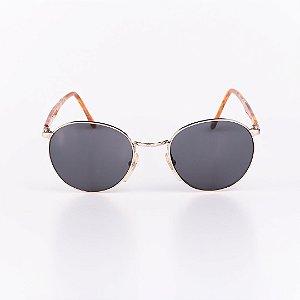 Óculos de Sol Masculino Robert La Roche Dourado com Mescla - RROCSCA135