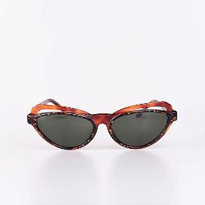 Óculos de Sol Robert La Roche Marrom Translúcido com Mescla Colorida - RROCSLR288