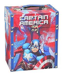 Porta Treco Capitão América 20x14cm - Marvel