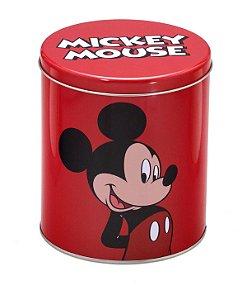 Lata Ø17x19cm Mickey Vermelha - Disney
