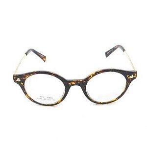 Óculos Receituário Arredondado Animal Print - 2816C55