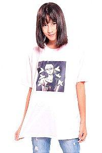 Camiseta Prorider Zeno On Rosa Claro com estampa Quadrada - ZOCAM22