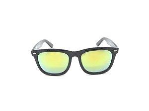 Óculos de Sol Prorider Preto com Lente Espelhada - YD1709C4