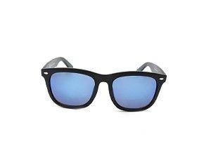Óculos Solar Prorider Preto com Lente Espelhada Azul - YD1709C1