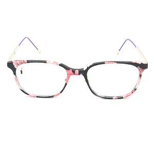 Óculos Receituário Prorider Arredondado Animal Print - k-1314-50