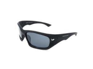 Óculos de Sol Prorider Preto Fosco com Lente Fumê - LL3090C3