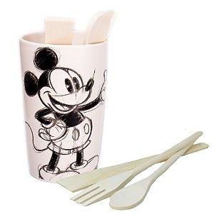 Porta Utensílios Disney 4Pçs Branco