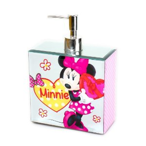 Dispenser Minnie 300ml Pink - Disney