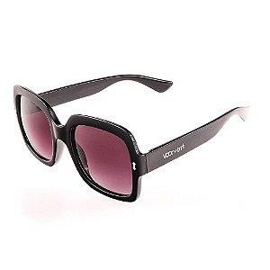Óculos de Sol Voor Vert Preto com Lente Degradê - VVOCS19846
