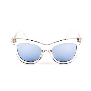 Óculos Solar Voor Vert Translúcido com Lente Azul - VVOCSYD1829C5
