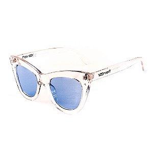 Óculos de Sol Voor Vert Translúcido com Lente Azul - VVOCSYD1829C5