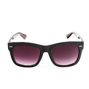 Óculos Solar Voor Vert Preto com Lente Degrade - VVOCS19845