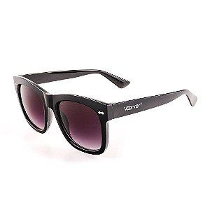 Óculos de Sol Voor Vert Preto com Lente Degradê - VVOCS19845