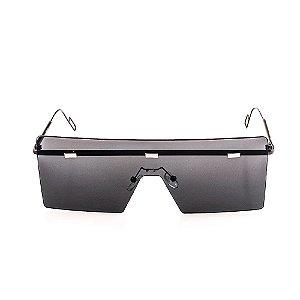 Óculos Solar Voor Vert Grafite com Prata - VVOCSBRIGID