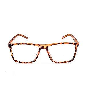 Óculos Receituário Voor Vert Animal Print Fosco - VVOCRGP022-2