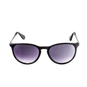 Óculos Solar Voor Vert Preto Fosco com Grafite - VVOCS25236
