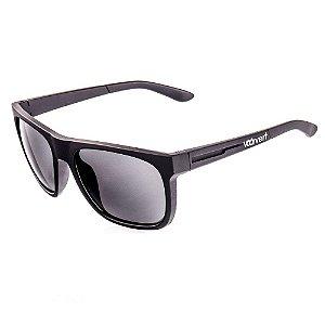 Óculos de Sol Voor Vert Preto Fosco com Detalhes em Relevo - VVOCSXZ-57