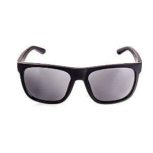 Óculos Solar Voor Vert Preto Fosco com Detalhes em Relevo - VVOCSXZ-57