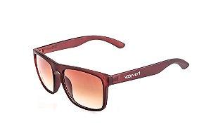 Óculos de Sol Voor Vert Marrom Fosco com Lente Degradê - VVOCSGP207