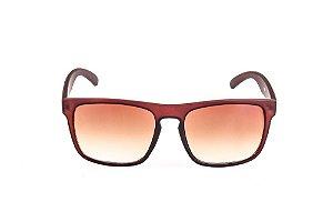 Óculos Solar Voor Vert Marrom Fosco com lente Degrade - VVOCSGP207