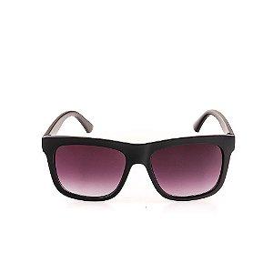 Óculos de Sol Voor Vert Preto Fosco com Lente Degradê - VVOCS20601