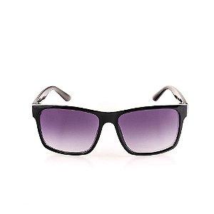 Óculos de Sol Voor Vert Preto com Detalhe em Grafite - VVOCS25248