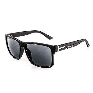 Óculos de Sol Voor Vert Preto Fosco com Detalhe em Grafite - VVOCS25248-1