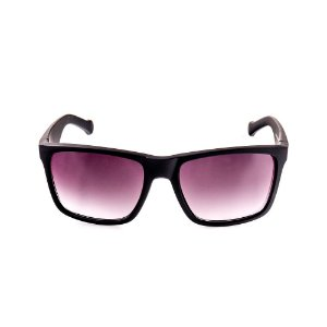 Óculos Solar Voor Vert Preto Fosco com Lente Degrade - VVOCSXZ-56