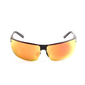 Óculos Solar Voor Vert Preto Fosco com Lente Espelhada Colors - VVOCSL091SC1