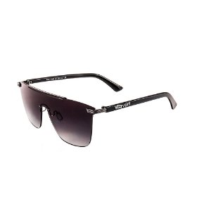 Óculos de Sol Voor Vert Preto com Lente Degradê - VVOCSCJH72042C1