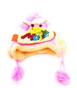 Touca Infantil Menina Pink Link Prorider Bichos Multicolorida - PL802