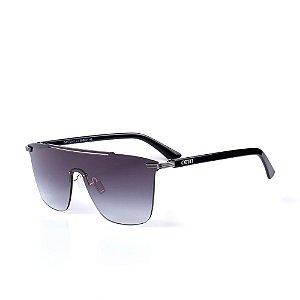 Óculos de Sol OTTO - Preto com Grafite e Lente Degradê