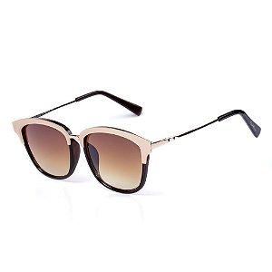 Óculos de Sol OTTO - Dourado com Marrom