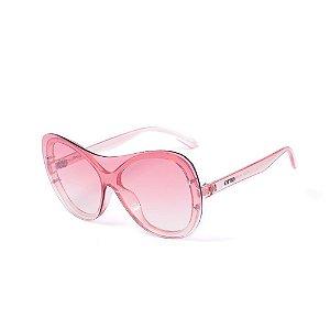 Óculos de Sol OTTO - Máscara Translúcido Rosado