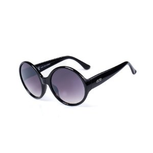 Óculos de Sol OTTO - Redondo Preto com Lente Degradê