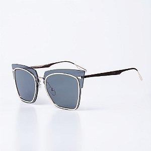 Óculos de Sol OTTO - Dourado com Lente Fume