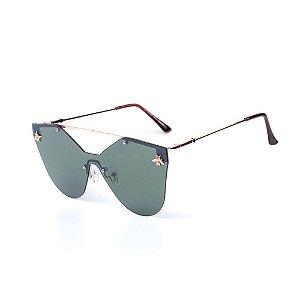 Óculos de Sol OTTO - Dourado com Verde