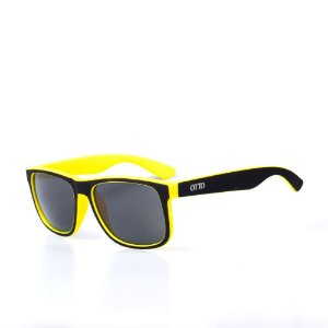 Óculos de Sol OTTO - Preto e Amarelo Fosco