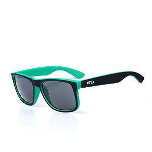Óculos de Sol OTTO - Preto e Verde Fosco