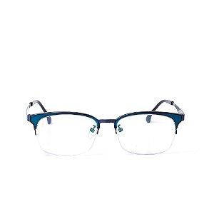 Óculos Receituário Otto - Azul escuro Fosco