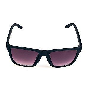 Óculos de Sol Titania Preto Quadrado Com Lente Degrade