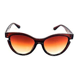 Óculos de Sol Titânia Marrom Lente Degrade