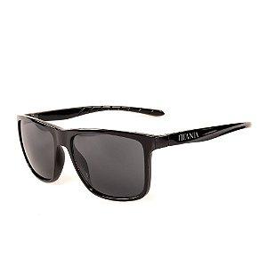 Óculos de Sol Titânia Preto Com Lente Fumê