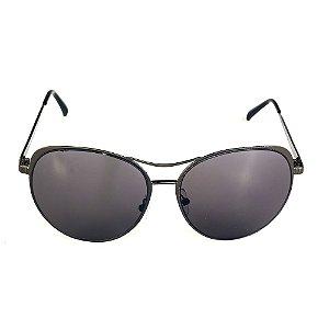 Óculos de Sol Titania Cinza Redondo