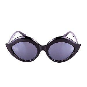 Óculos de Sol Titânia Gatinho Preto