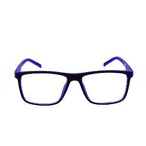 Óculos Receituário Conbelive Preto e Azul Fosco