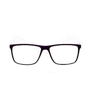 Óculos Receituário Conbelive Preto e Branco Fosco